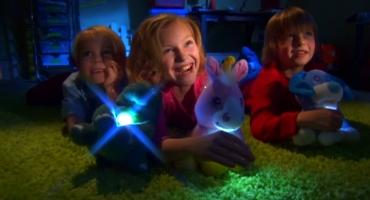 بازی نوری در تاریکی