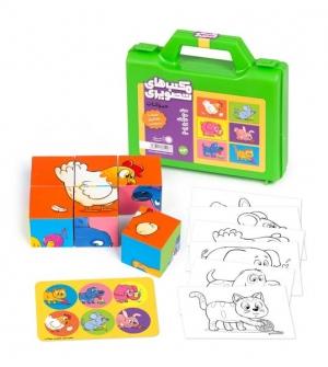 مکعبهای تصویری - حیوانات